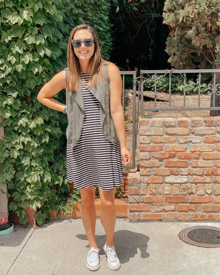 The easiest little swing dress is only $10 today! I've had multiple colors over the years and I love them for school, road trips and all through pregnancy! http://liketk.it/3eOmP @liketoknow.it #liketkit #LTKunder50 #LTKstyletip #LTKsalealert