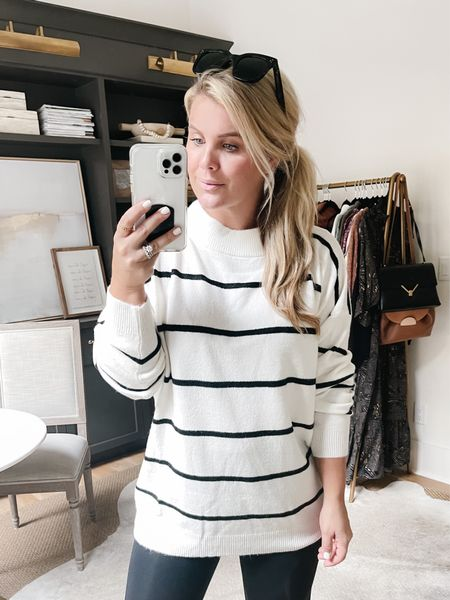 Target oversized sweater. I am in a medium & it runs very large.     #LTKunder50