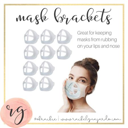 My masks were driving me crazy rubbing on my lips and nose when I was talking. I'm so glad I found these little things. Mask brackets hold your mask off of your lips and nose and makes it easier for people to understand you while you're wearing your mask! Also it protects your lipstick from rubbing off on your mask. ☺️ #StayHomeWithLTK #liketkit @liketoknow.it http://liketk.it/34jMK