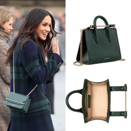 Mini bag of Meghan's strathberry available #barclosure #bag #purse   #LTKeurope