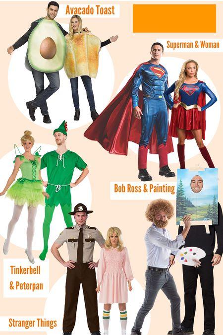 Couples Halloween costumes from Amazon! Loving all of these characters!! #halloween #costume #couplescostume #amazon   #LTKunder50 #LTKSeasonal #LTKHoliday