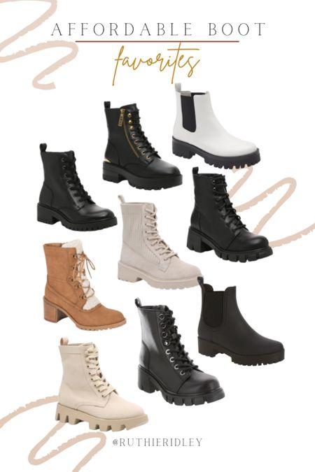 Best affordable combat boots for this fall!!   #LTKunder100 #LTKSeasonal #LTKshoecrush