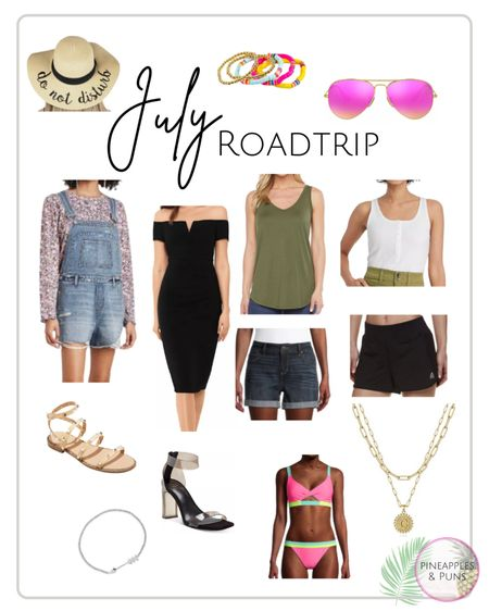 Hot, summer days & roadtrips call for cool, yet fun outfits & accessories! ☀️   #LTKtravel #LTKunder100 #LTKunder50