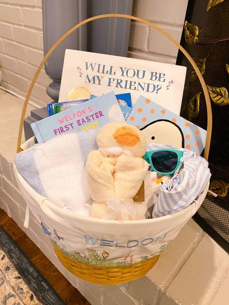 Baby boy Easter basket inspiration! Baby's first Easter! 🐣 🐰   #babyboyeaster  #babyeaster  #easterbasket  #babyeasterbasket  #LTKfamily #LTKSeasonal #LTKbaby
