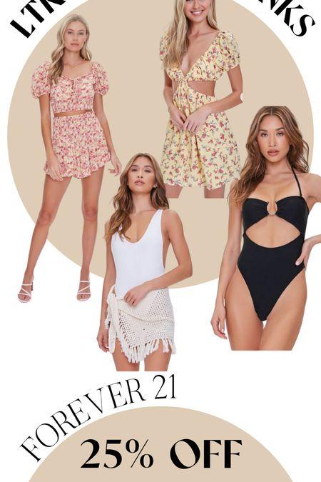 New style finds on sale! From forever 21!!!   #LTKsalealert #LTKDay #LTKswim