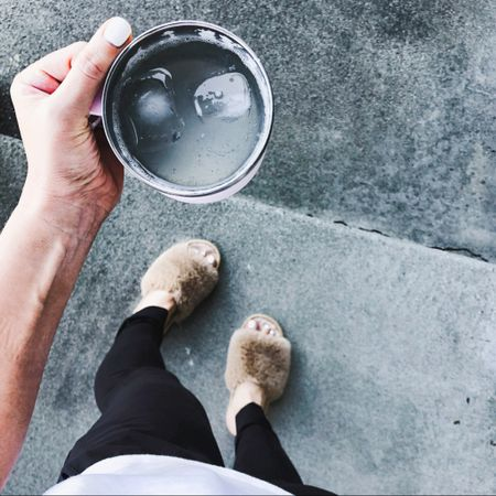 My Yeti mug keeps coffee hot and La Croix cold! A must http://liketk.it/3hvee #liketkit @liketoknow.it #LTKhome #LTKstyletip #LTKunder50 These slippers are so cute, too! Download the LIKEtoKNOW.it shopping app to shop this pic via screenshot