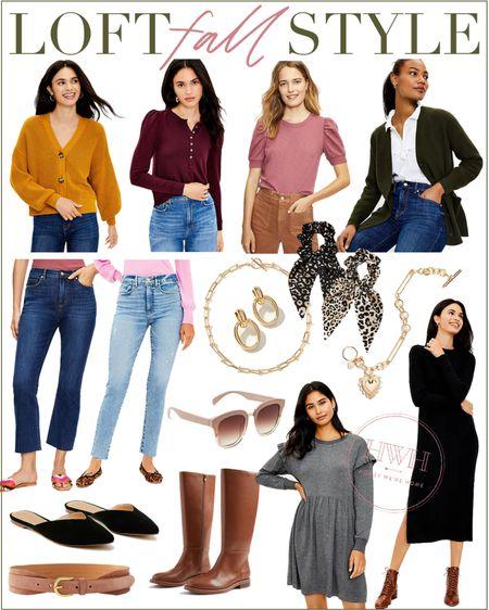 LOFT Fall Fashion   #LTKstyletip #LTKsalealert #LTKshoecrush