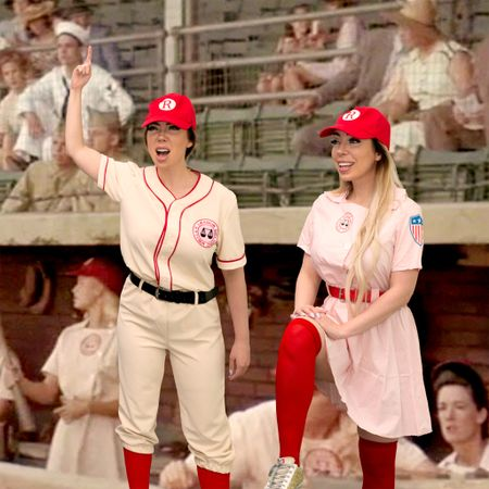 There's no crying in baseball! #aleagueoftheirown   #LTKunder50 #LTKSeasonal #LTKHoliday