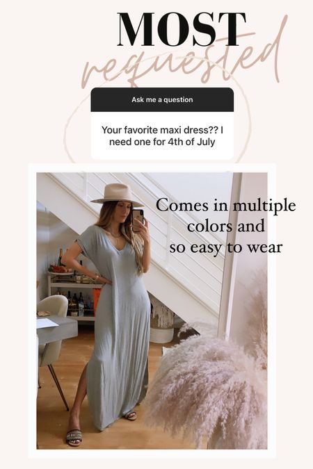4th of July outfit  Maxi dresses  Summer dresses  Vacation outfit  T-SHIRT dress Amazon dresses  Wearing size XS (TTS)   Follow me on my LTK for more outfit inspo     #LTKunder50 #LTKstyletip #LTKtravel