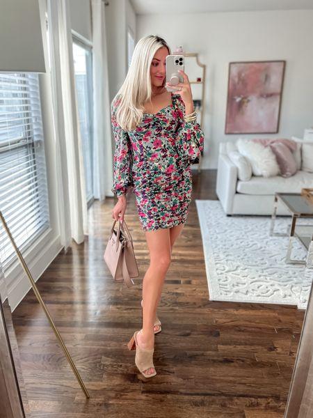 BuddyLove dress  - size XS  - discount code: JANELLEPAIGE Steve Madden open toe suede heels    #LTKunder50 #LTKstyletip #LTKunder100