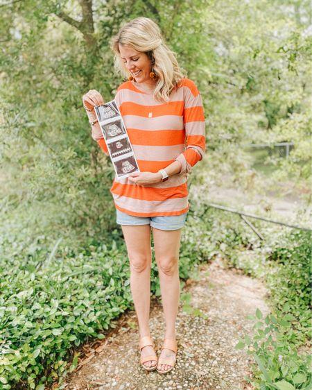 Style the bump: maternity shorts from target! http://liketk.it/2Vlkm #liketkit @liketoknow.it #LTKbump #LTKfamily