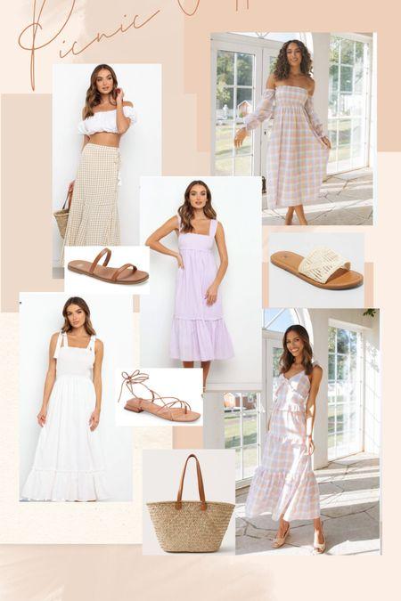 Picnic outfits for summer   #LTKunder100 #LTKSeasonal #LTKstyletip