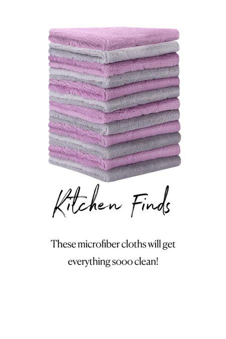 Amazon Kitchen Finds. Microfiber towels.   #LTKhome