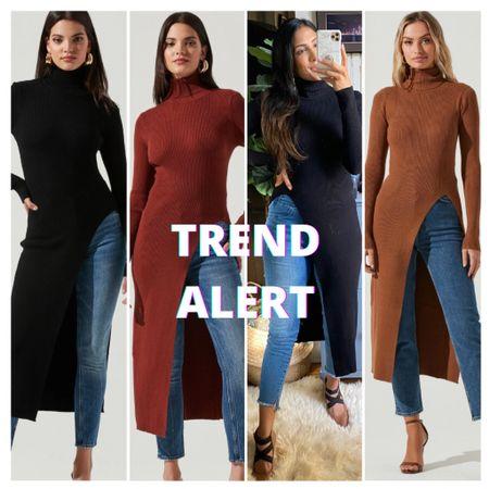 Snag up the seasons hottest new sweater. #trends #sweater #longsweater #bestseller   #LTKunder100 #LTKstyletip #LTKSeasonal