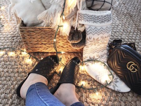 Not ready for the holidays to be over! ❄️ *Screenshot or 'like' this pic to shop the product details from the LIKEtoKNOW.it app, available now from the App Store! #liketkit @liketoknow.it   http://liketk.it/2u0P8 #LTKholidaystyle #LTKholidayathome #LTKshoecrush #LTKholidaywishlist