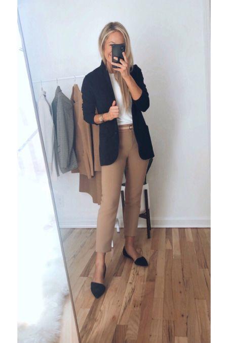 J.Crew sweater blazer business casual outfit workwear   #LTKsalealert #LTKunder100 #LTKworkwear