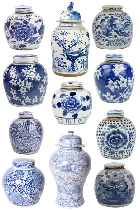 Some of my favorite ginger jars of all time!   #LTKhome