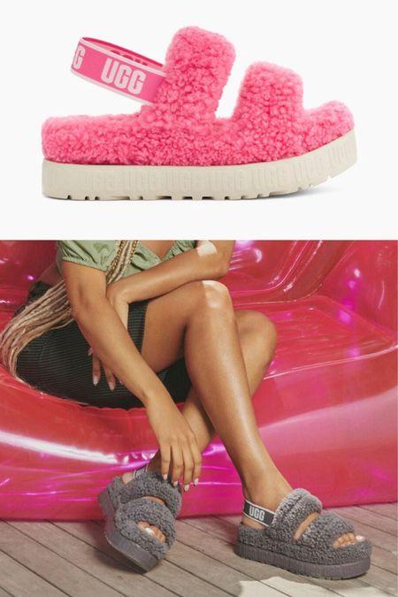 New ugh slippers Fluffita Platform fuzzy  http://liketk.it/3k48F #liketkit @liketoknow.it #LTKshoecrush #LTKunder100 #LTKtravel
