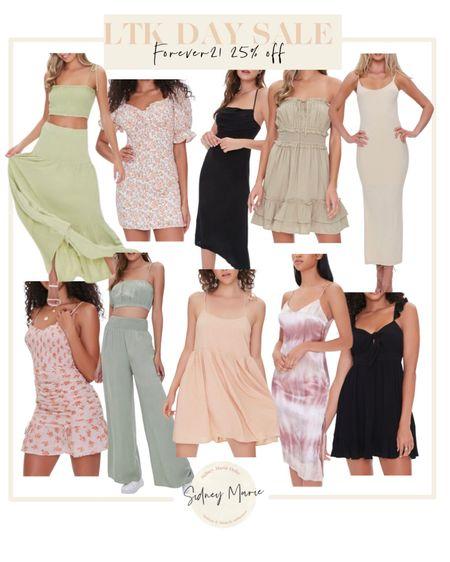Forever 22 LTK day sale  Cut out dresses  Maxi mini dresses  Tie dye  Colorful neutral dresses Vacation dress Summer dress  Ruched smocked dress Trendy outfit ideas on sale   @liketoknow.it http://liketk.it/3hjr9 #liketkit #LTKunder50 #LTKsalealert #LTKDay