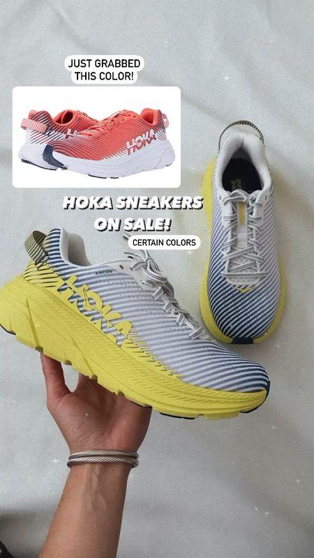 Certain colors on sale! I went with normal sneaker size  Hoka running sneakers   #LTKsalealert #LTKfit #LTKshoecrush