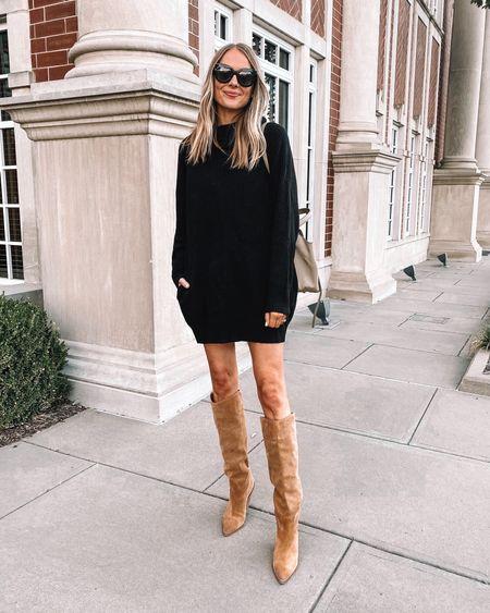 Sweater dress #amazonfashion #amazonfinds #sweaterdress   #LTKunder50 #LTKunder100 #LTKstyletip