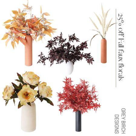 25% off Faux Florals with code: AUTUMN through 8/3   #LTKhome #LTKsalealert #LTKunder50