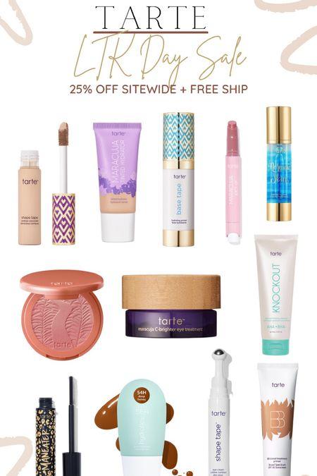 LTK Day Sale! Tarte 25% off + plus free shipping! 🧡  #LTKSale #LTKsalealert #LTKbeauty