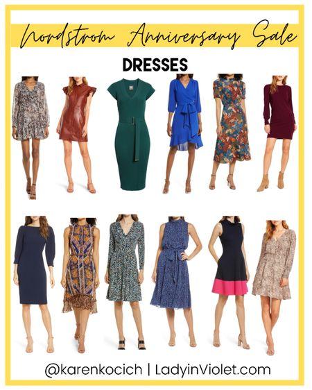 Nordstrom Anniversary sale / nsale / work dresses / fall dress / workwear / wedding guest dresses    #LTKsalealert #LTKworkwear #LTKunder100