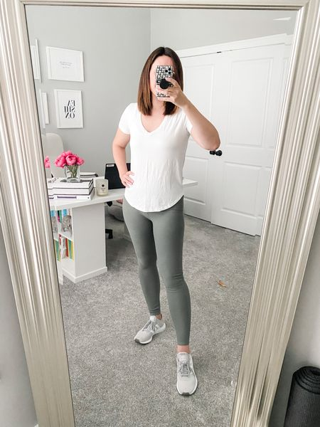 Abercrombie has a great sale going on this weekend and these leggings I love so much are on major discount! I have swapped my Lululemons for these because the fabric is buttery soft and doesn't pill with wearing or washing like Lululemon does! Highly recommend!  #LTKfit #LTKunder50 #LTKstyletip