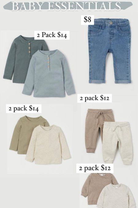 Baby clothes, baby essentials, basics http://liketk.it/3c1sF #liketkit @liketoknow.it #LTKSpringSale #LTKbaby #LTKsalealert