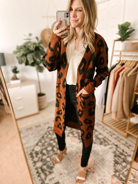 Long Sleeve Leopard Print Color: Coffee/TTS/wearing a size S  #ifounditonamazon #amazonfashion #amazonfinds #outfitoftheday #ootd #outfitideas #outfitinspo #amazonsweater #amazonfallfashion #amazonwinterfashion  http://liketk.it/3pGei   @liketoknow.it #liketkit #LTKbeauty #LTKfit #LTKstyletip #LTKSeasonal