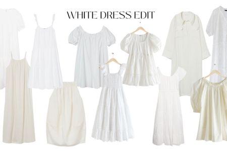 My favorite white dresses at the moment http://liketk.it/3hGY2 #liketkit @liketoknow.it #LTKunder100 #LTKunder50 #LTKstyletip