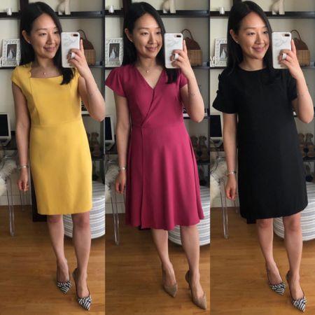 Review of these sale dresses in the June 15th post on www.whatjesswore.com. Everything is 50% off and ships free at Ann Taylor. Thanks for reading! @liketoknow.it http://liketk.it/2CD3y #liketkit #LTKsalealert #LTKshoecrush #LTKspring #LTKstyletip #LTKunder100 #LTKunder50 #LTKworkwear #thisisann petite