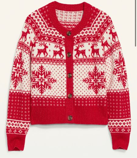 The cutest fair isle sweater! 50% off today!