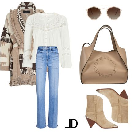 Designer Look Fall looks Fall outfit ideas      Cashmere Cardigan Lace top High waisted Jeans Isabel Marant bogies Stella McCartney Crossbody Sunglasses     Follow me and style with me! I am so glad and grateful you are here!🥰 @lindseydenverlife 🤍🤍🤍    _______ #falloutfit #designer #falloutfits2021  Business Casual Old Navy Deals Walmart Finds Target Looks #GapHome Shein Haul Nordstrom Sale  Wedding Guest Dresses Plus Size Fashions Back to School #laurenkaysims #laurabeverlin #champagneandchanel #emilyandgemma #dressupbuttercup #almost_readyblog Fall outfit, jeans, cowboy boots, fall outfit inspiration, fall outfit with boots, fall outfit inspo, fall fashion outfits  #LTKstyletip #LTKSeasonal #LTKitbag