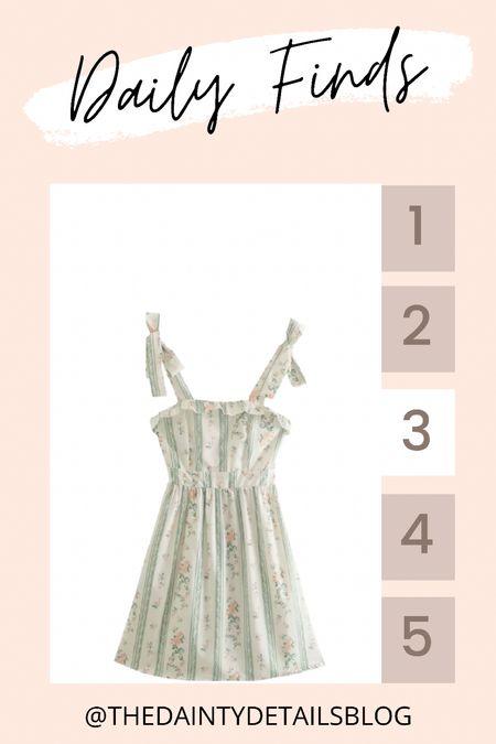 Daily finds: prettiest summer dress and a total reformation dupe! Use CAREY40 for 40% off!   #LTKstyletip #LTKunder50 #LTKsalealert