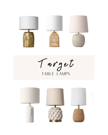 Target Table Lamps http://liketk.it/3aXWg #liketkit @liketoknow.it @liketoknow.it.home Shop your screenshot of this pic with the LIKEtoKNOW.it shopping app