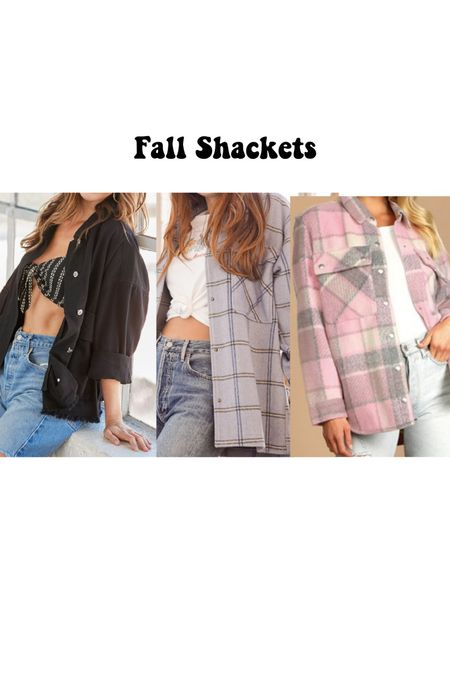 Three must have fall shackets  So comfy and cute   #LTKSeasonal #LTKtravel #LTKstyletip