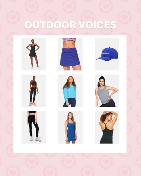 Outdoor Voices   20% off ! need I say more?!.... I don't think so. I absolutely LOVE the exercise dress. It's the most flattering workout/tennis dress I've ever worn! Perfect for excersing, running, playing tennis, or going to central market to get some groceries! 😉 use my links to get 20% off. http://liketk.it/2SFJW #liketkit @liketoknow.it #LTKDay #LTKstyletip #LTKfit   Follow me on the LIKEtoKNOW.it shopping app to get the product details for this look and others