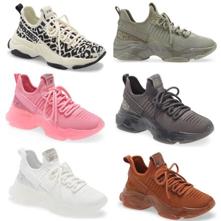 Fall sneakers under $100 in lots of cool colors, and the leopard print ones are on sale! These are perfect for the season but would also be a great gift for shoe lovers.   #LTKshoecrush #LTKGiftGuide #LTKunder100
