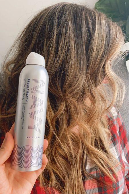 Navy hair care texture spray for beachy waves  #LTKtravel #LTKstyletip #LTKbeauty