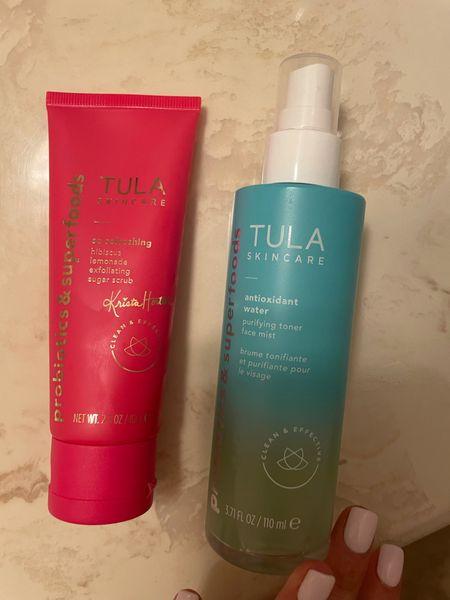 New face scrub and toner/hydration spray use code doubledose   #LTKunder50 #LTKsalealert #LTKunder100