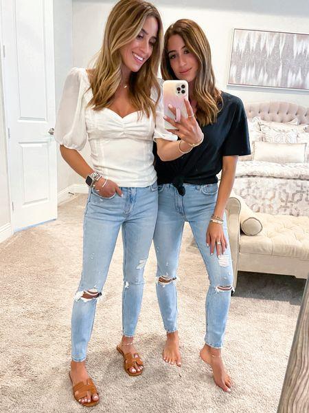Top and tee size Xs, jeans size 24 short use code afbelbel   #LTKunder50 #LTKunder100 #LTKsalealert