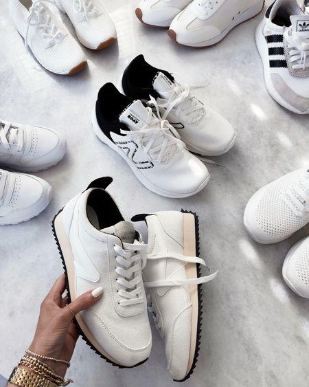 Sneaker roundup, sneakers, white sneakers, everyday shoes, StylinByAylin   #LTKshoecrush #LTKstyletip