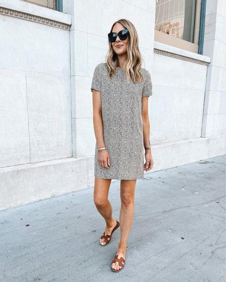 Jenni kayne leopard mini dress (use code JACKSON15 for a discount) wearing size small (size up) #summerdress #dresses #sandals #fashionjackson http://liketk.it/3fgXA #liketkit @liketoknow.it #LTKunder50 #LTKunder100 #LTKstyletip