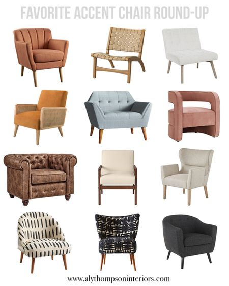favorite accent chair round-up 🪑🤍  Shop your screenshot of this pic with the LIKEtoKNOW.it shopping app!  http://liketk.it/35DP8 #liketkit @liketoknow.it #LTKsalealert #LTKhome @liketoknow.it.home