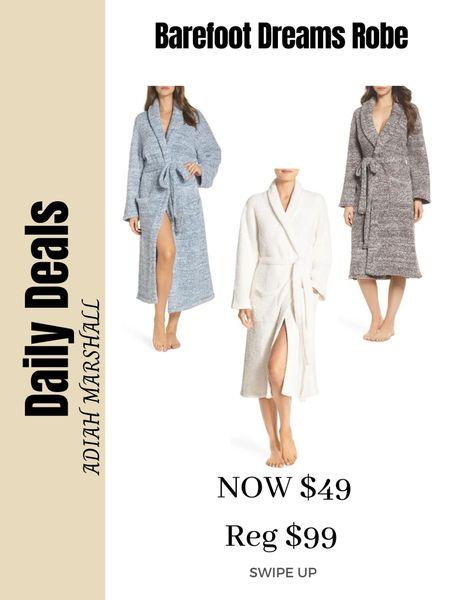 Barefoot Dreams Robes on sale!! Only $49   #LTKSeasonal #LTKunder50 #LTKbeauty