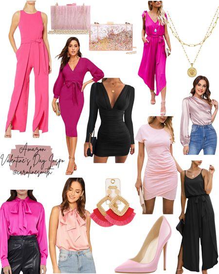 Amazon Valentine's Day Inspo  Shop your screenshot of this pic with the LIKEtoKNOW.it shopping app   #amazon #amazonstyle #vday #galentine #valentinesday #valentine #pink #pinkdress #LTKSeasonal #LTKVDay #LTKunder50 #liketkit @liketoknow.it http://liketk.it/37gJd