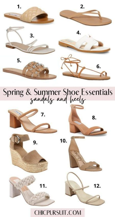Sharing my favorite nude spring shoes 2021, neutral spring sandals, spring heels, spring flats, spring wedges, neutral summer shoes 2021, nude summer sandals, summer heels, summer flats and summer wedges! There's so many gorgeous shoes this year, but neutrals are always a winner for me. #LTKshoecrush #LTKstyletip http://liketk.it/3guws @liketoknow.it #liketkit