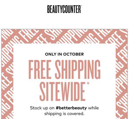 Beauty counter faves ship for free all month!  #LTKsalealert #LTKbeauty